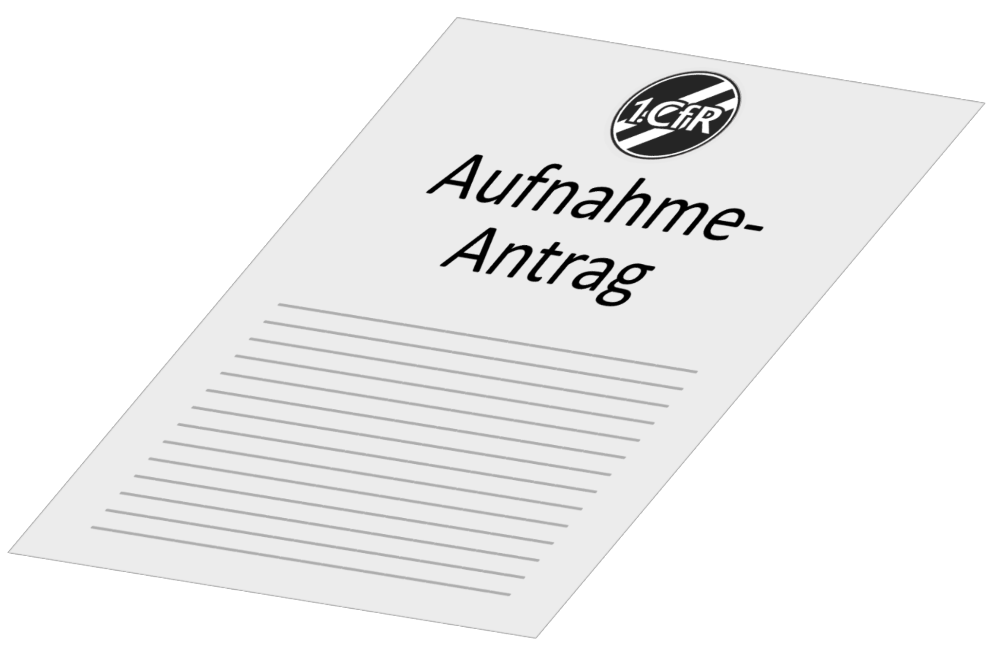 Mitglieds-Aufnahmeantrag