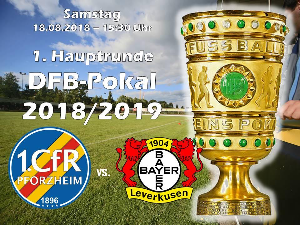 DFB-Pokalspiel Leverkusen am 18.08.2018