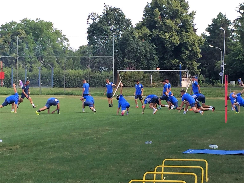 Spiel, Schweiß und Spaß – Trainingslager der Ersten Mannschaft