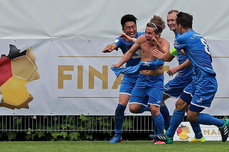 fussball.de schreibt über die Pforzheimer Pokalgeschichte