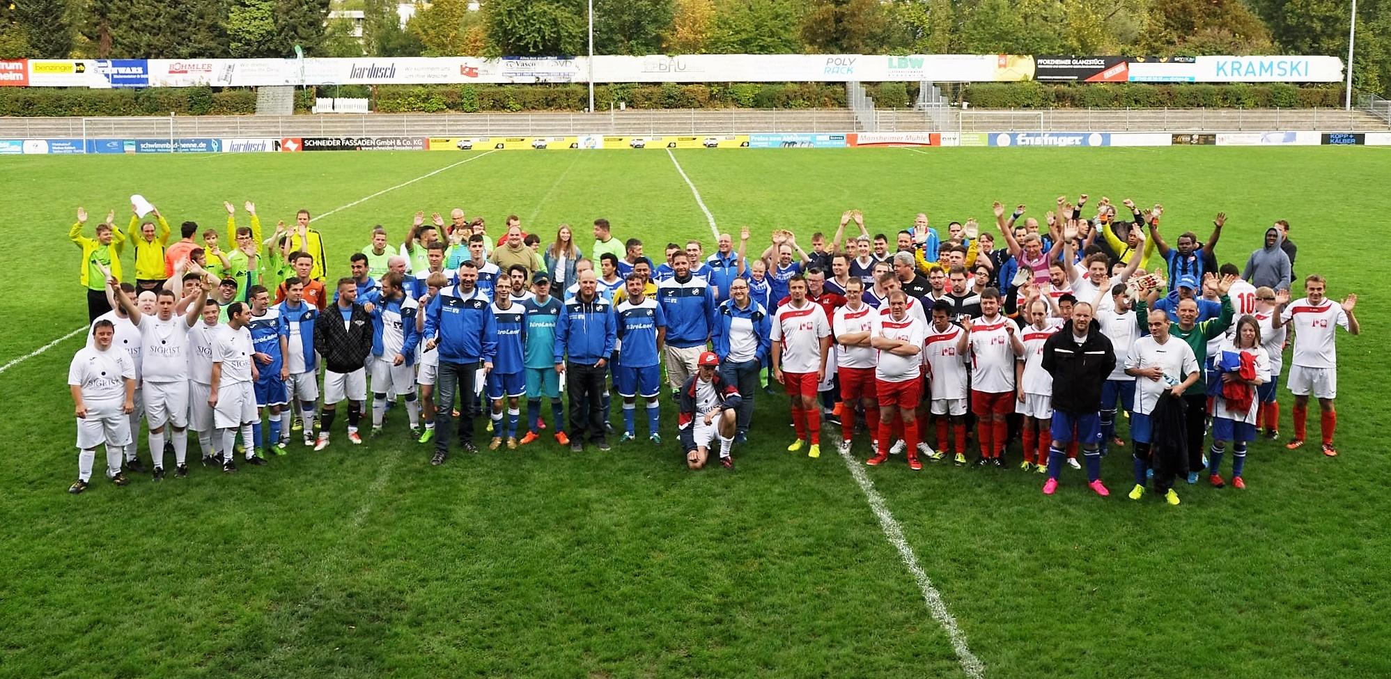2. Fußball-Cup für Menschen mit Behinderungen des 1. CfR Pforzheim