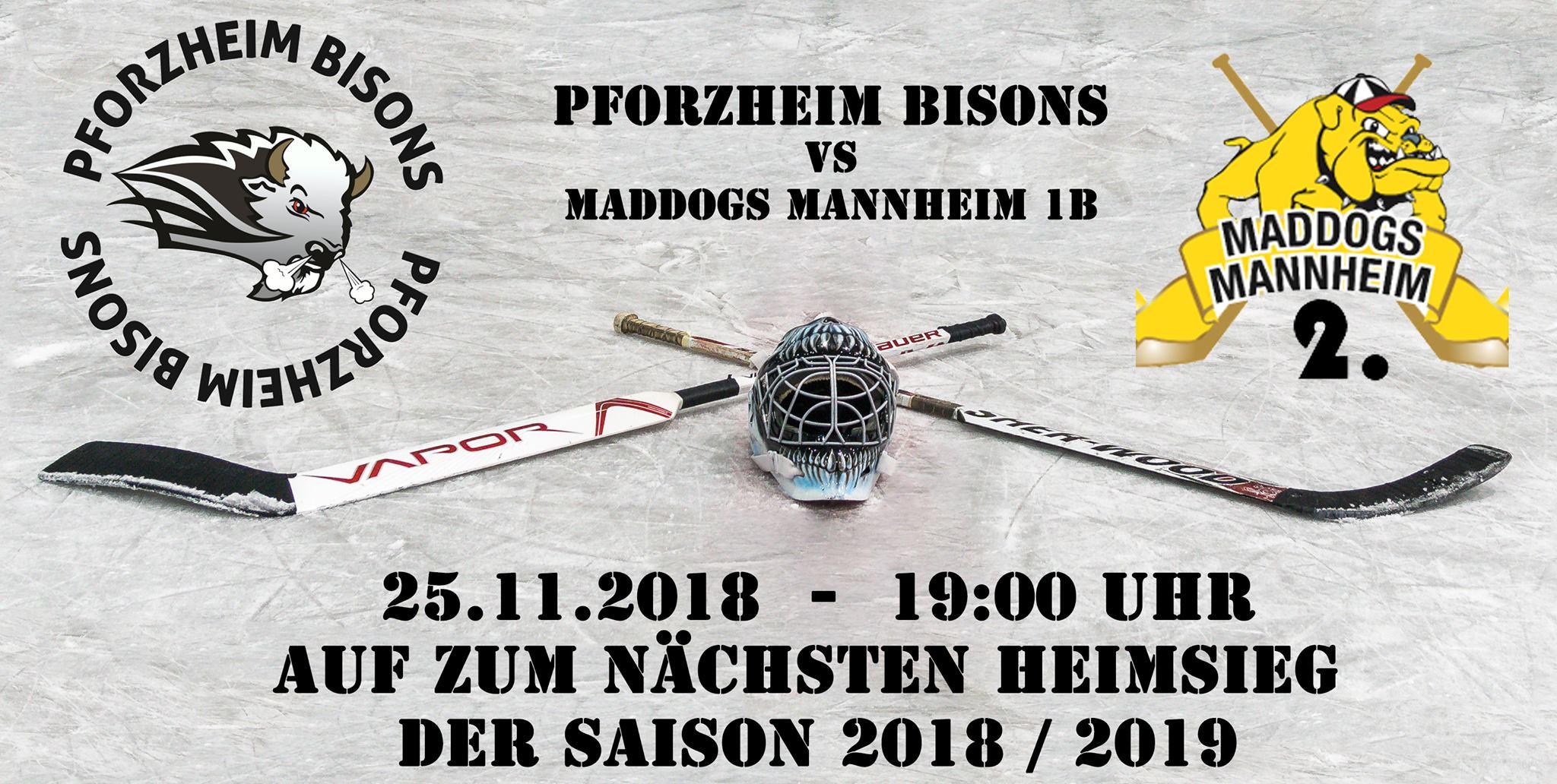 Bisons gefordert gegen Mannheim