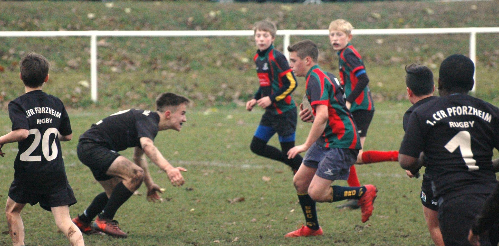 Rugby: Sieg und Niederlage am Doppelspieltag