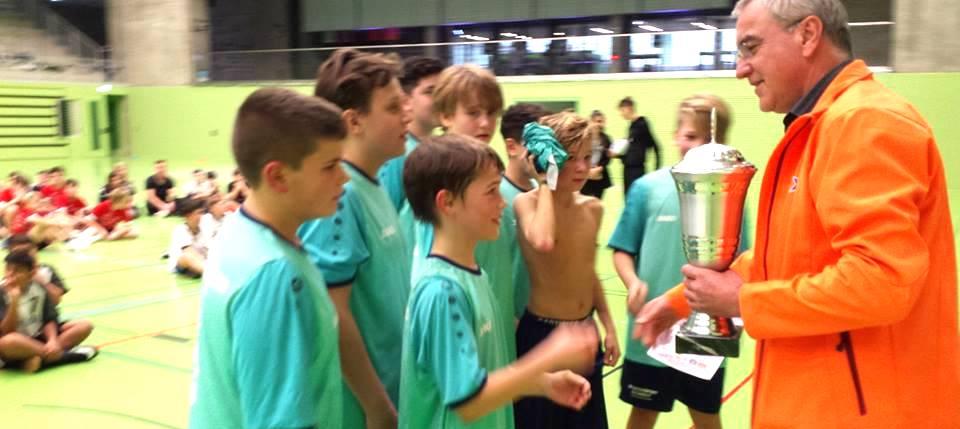 3. Touch-Rugby-Hallenturnier der Schulen
