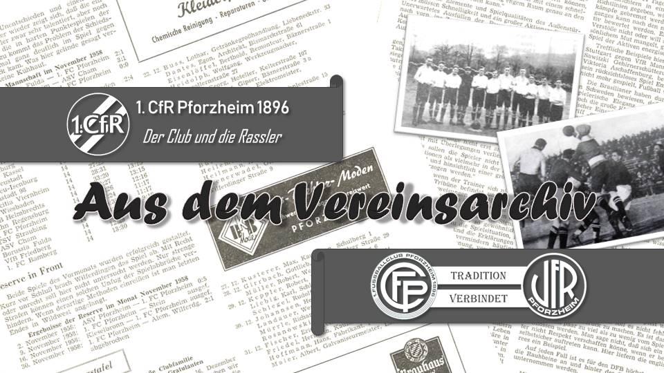 Aus dem Archiv 1959 – FCP und VfR