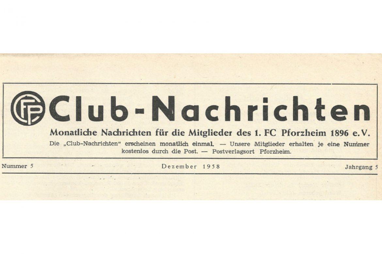 Aus dem Archiv 1958 – Der Fußball wird zu brutal