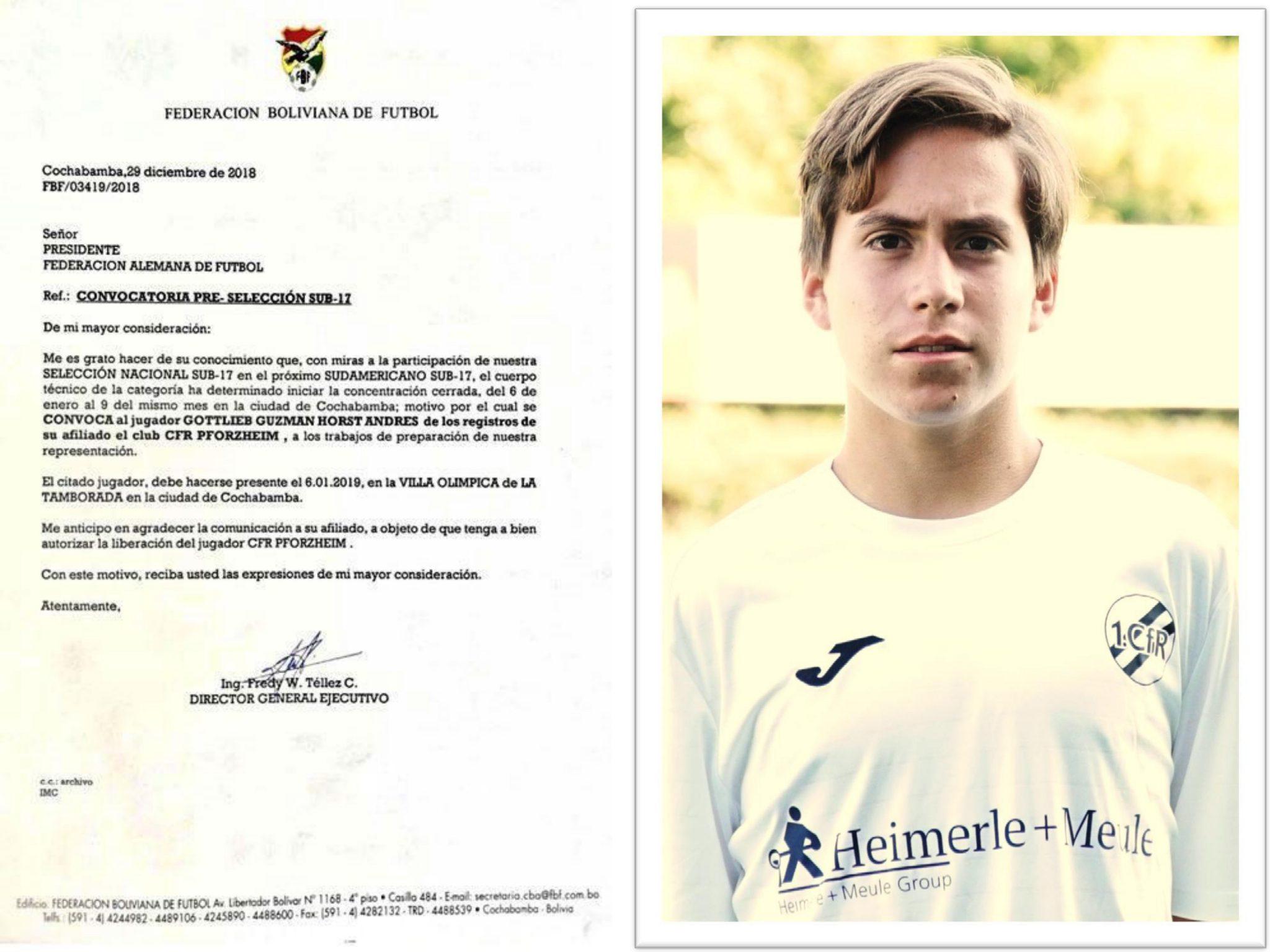 CfR-Spieler zur Nationalmannschaft berufen