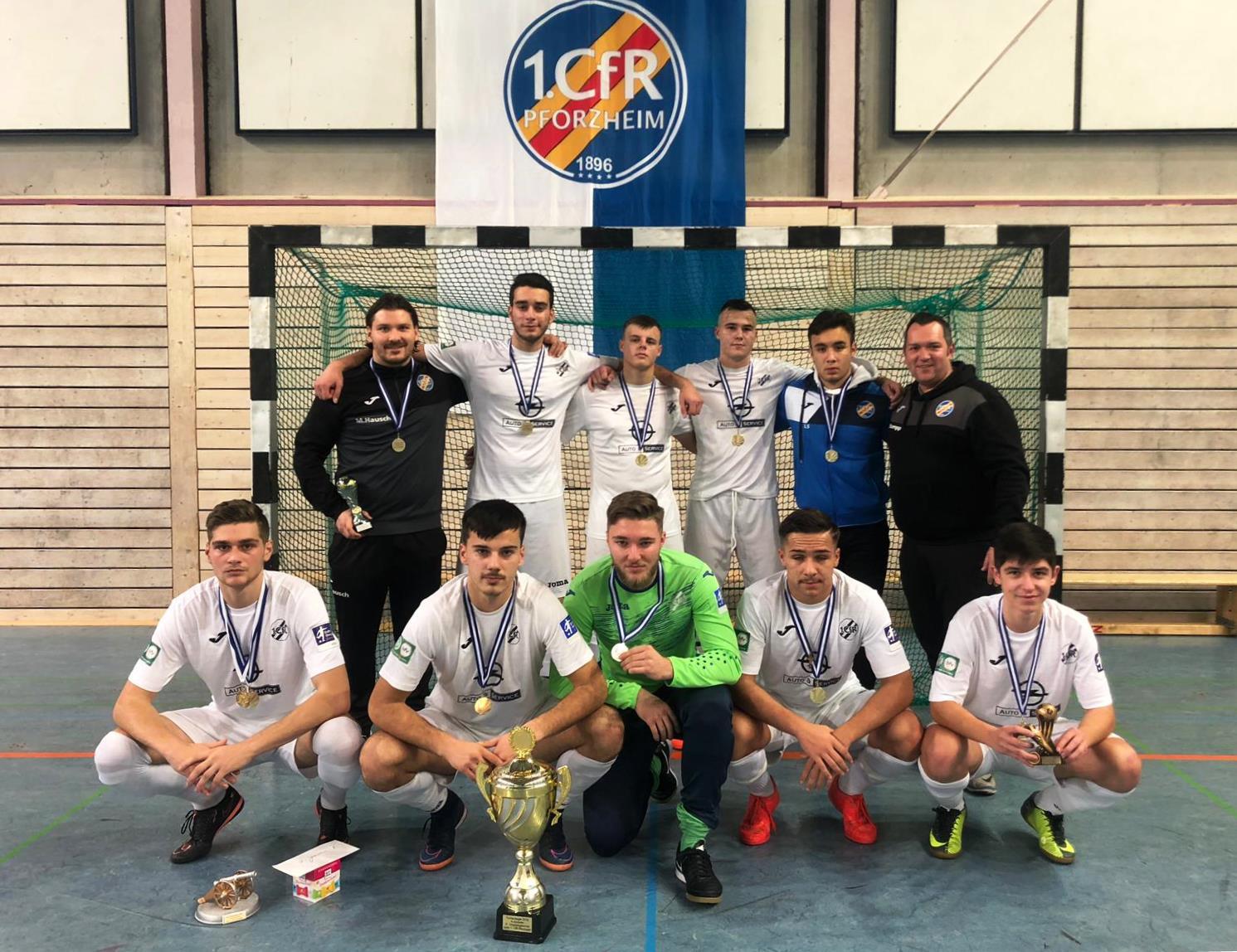 CfR U19 gewinnt 3-Königs-Turnier