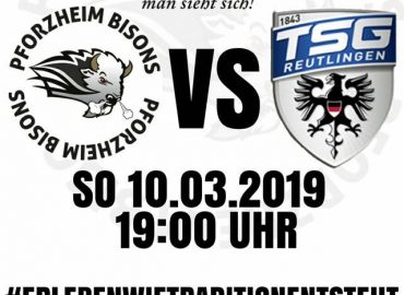 10.03.:  Bisons empfangen Black Eagles Reutlingen