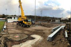 Brötzinger Tal: Tribünenaufbau beginnt