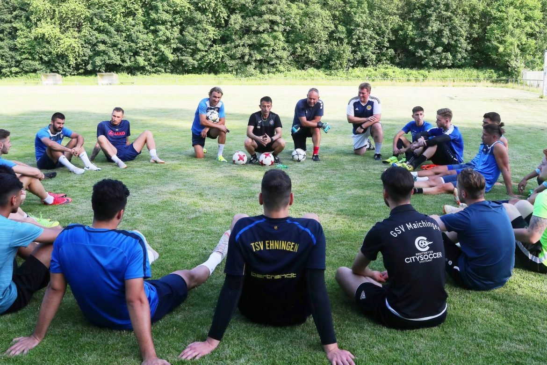 Trainingsauftakt der Ersten Mannschaft