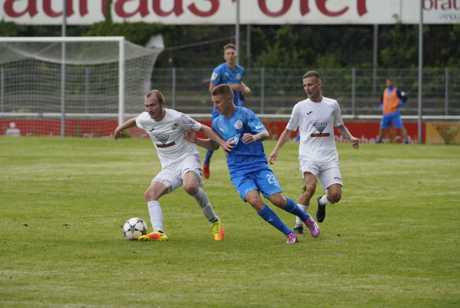 1:1 unentschieden im Testspiel gegen Astoria Walldorf