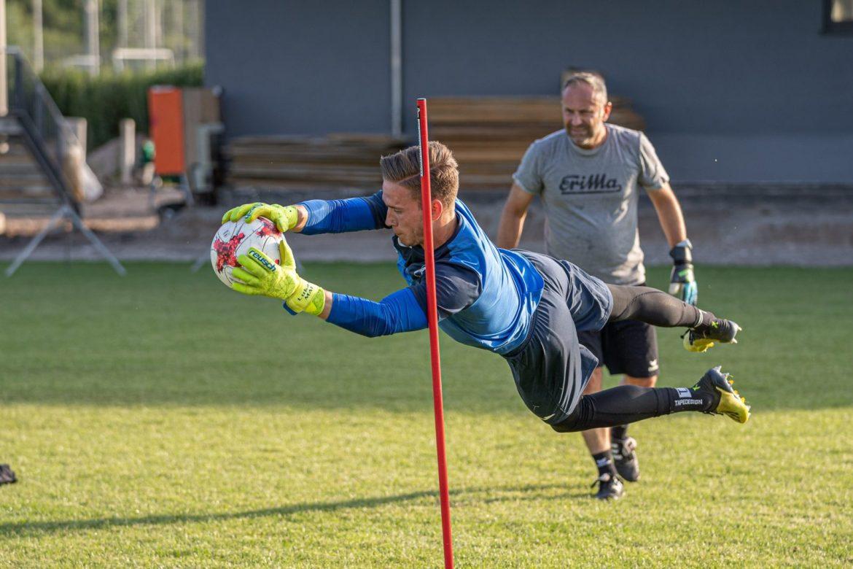 Testspiel gegen Regionalligisten FCA Walldorf