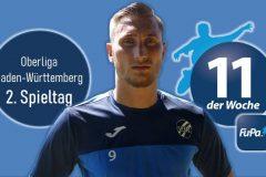 Fabian Czaker in FuPa-Elf der Woche gewählt