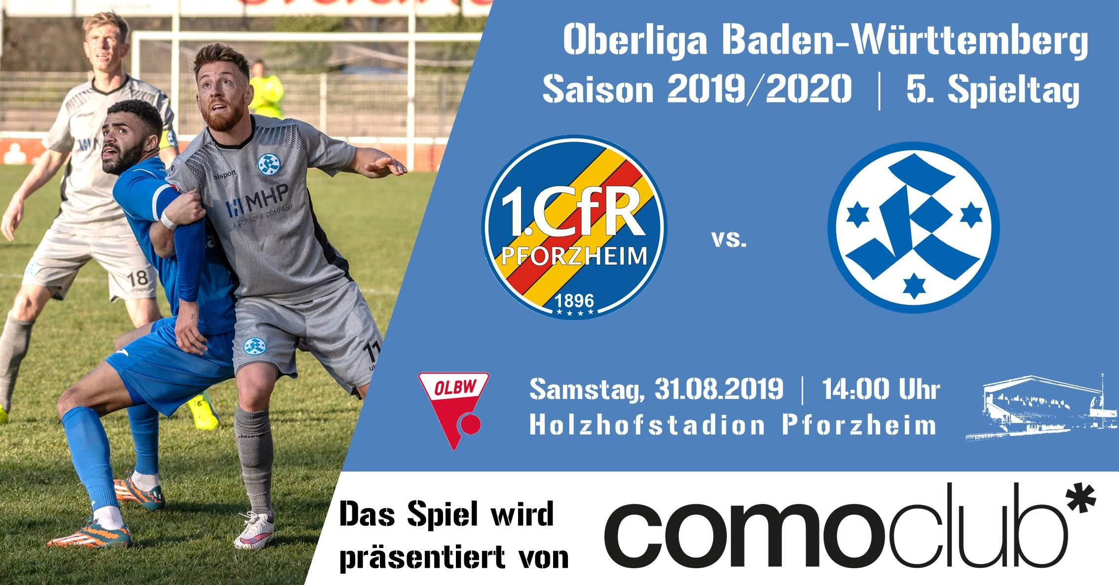 31.08.2019 – Heimspiel gegen die Stuttgarter Kickers