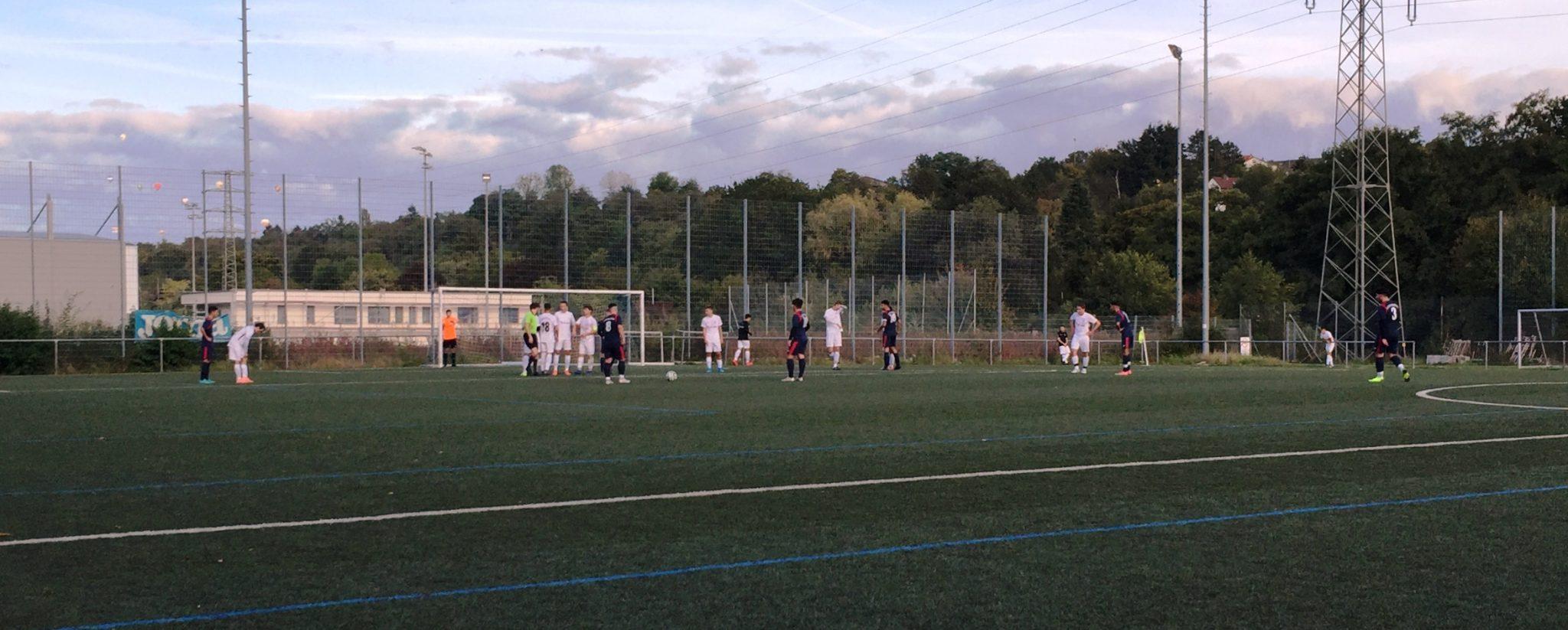 U19 mit Last-Minute-Erfolg gegen den TSV Amicitia Viernheim