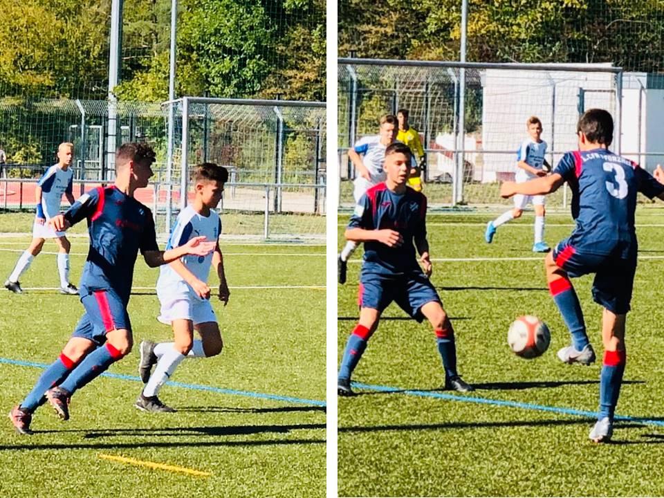 Erste Niederlage für U15