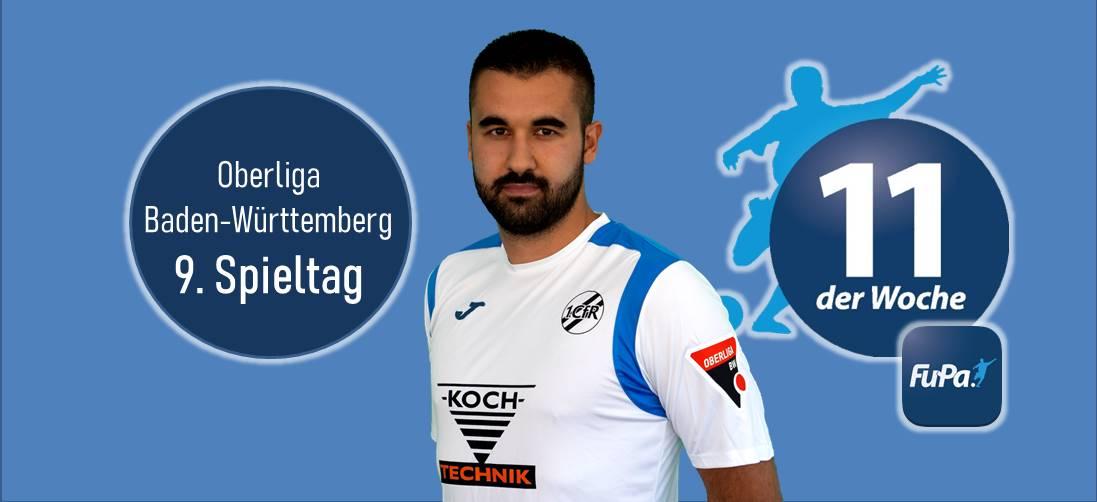 Serkan Baloglu in der FuPa Elf-der-Woche