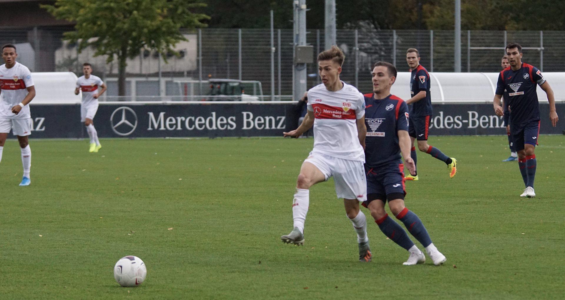 Der 1. CfR unterliegt beim VfB Stuttgart II