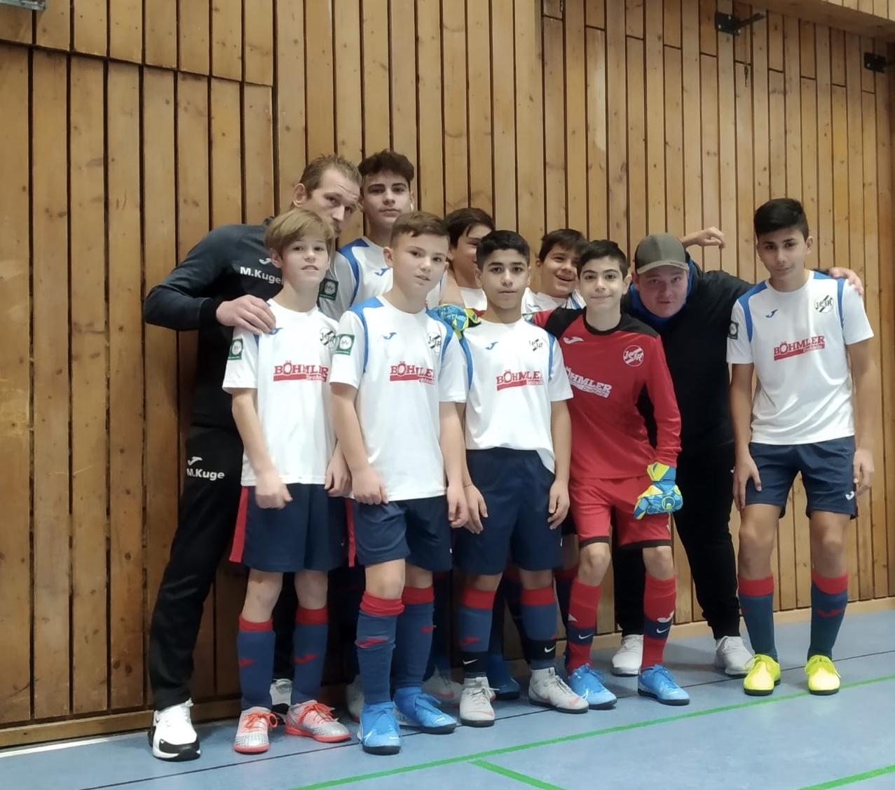 U13: Guter 4. Platz beim Turnier in Karlsruhe