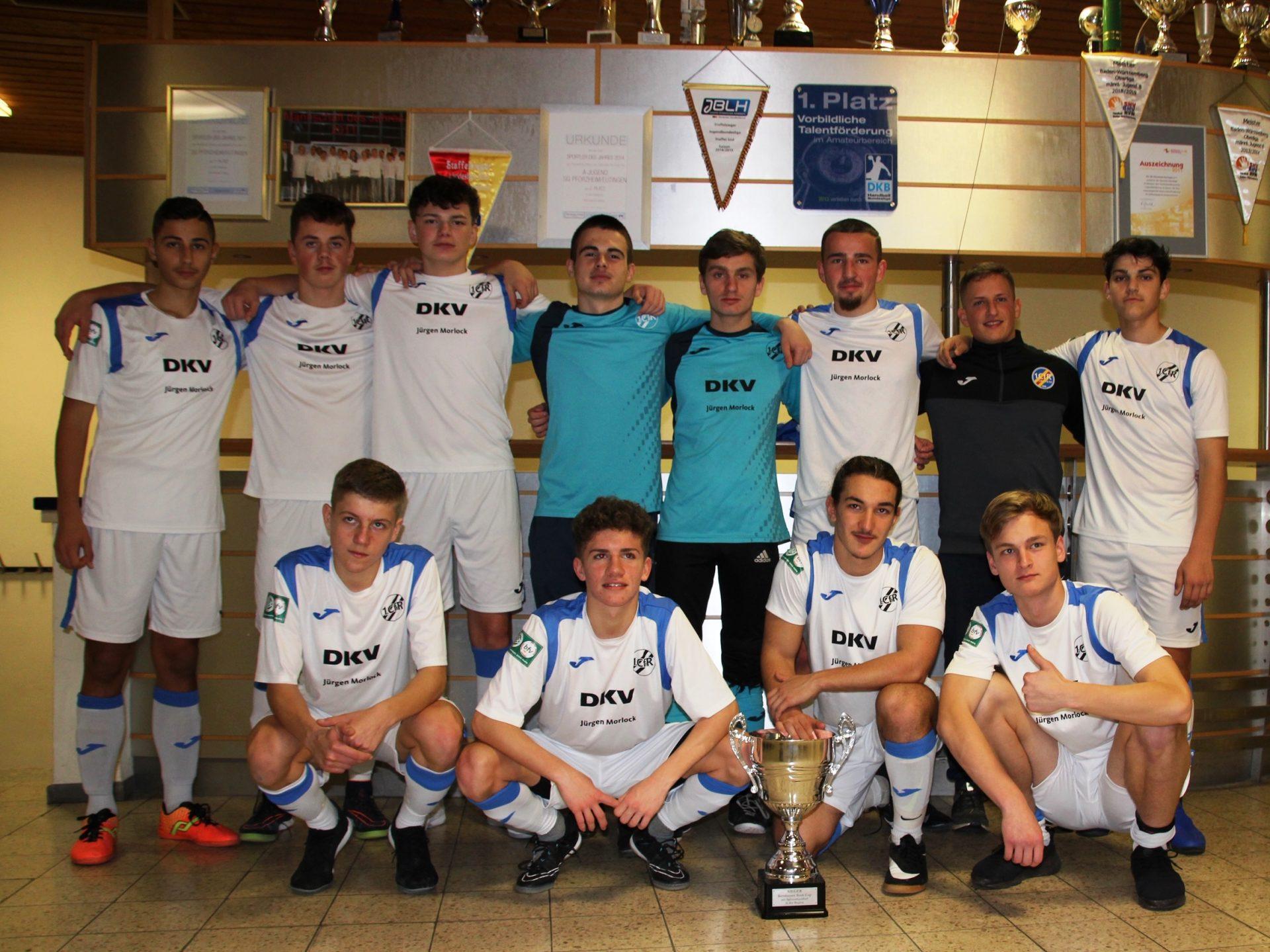 U17 Hallenkreismeisterschaft: Ohne Gegentor durch Runde 1