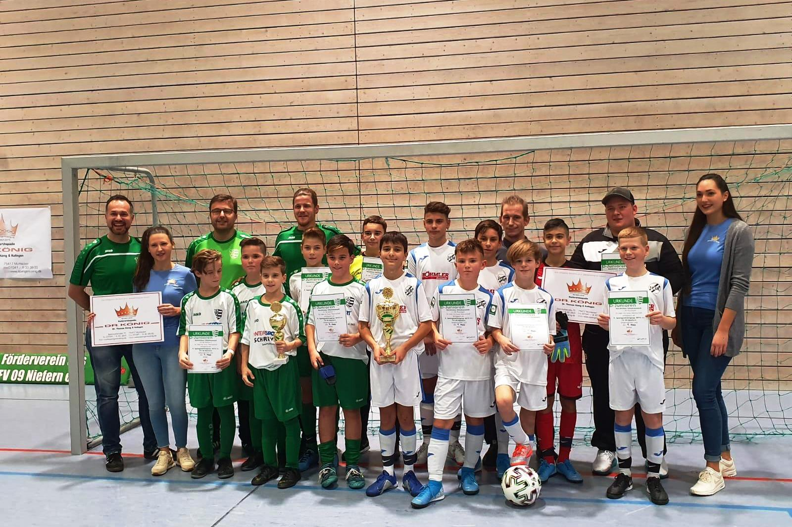 D1-Junioren feiern Turniersieg