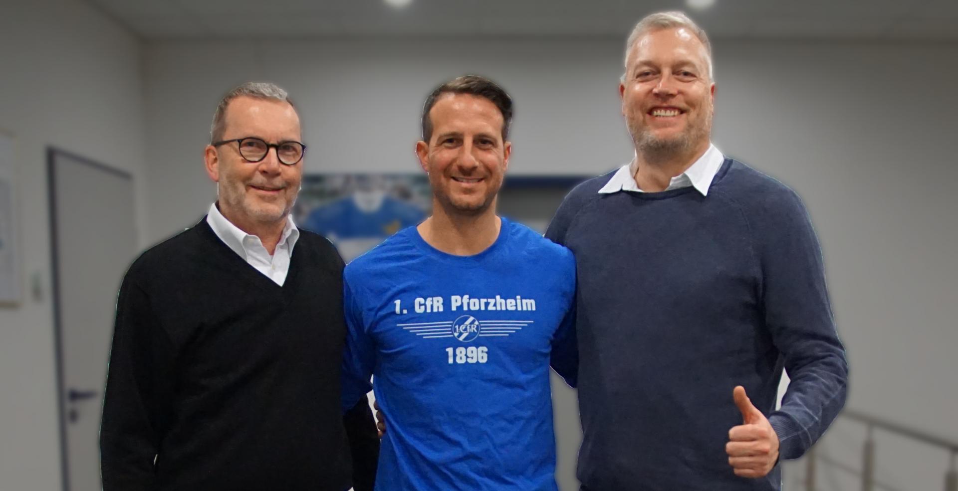 Giuseppe Ricciardi wird neuer Sportdirektor beim 1. CfR