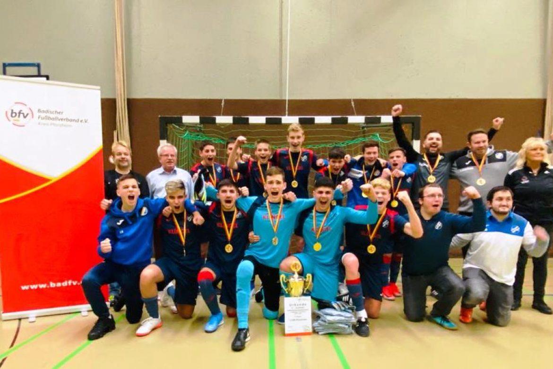 U15 gewinnt die Hallenkreismeisterschaft