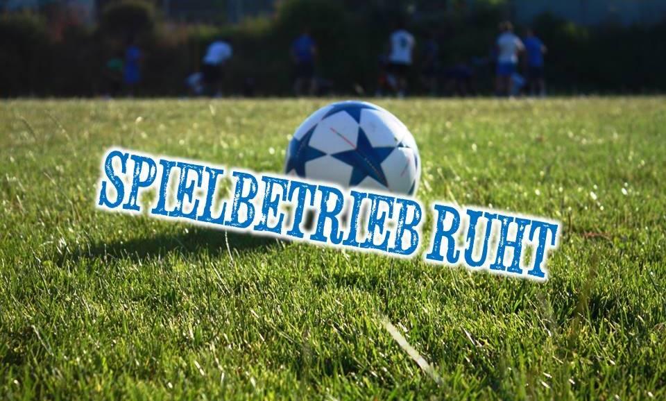Der 1. CfR handelt und stellt Jugendspielbetrieb vorläufig ein